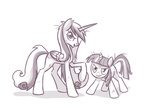naroclie princess_cadance twilight_sparkle