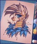 ddye088 flowers highres poison_joke traditional_art zecora