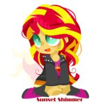 equestria_girls humanized mlpstarry sunset_shimmer transparent