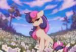 flowers highres orchidpony sweetie_drops