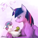 highres princess_flurry_heart princess_twilight sakuracheetah snail toy twilight_sparkle whammy