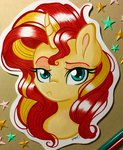 absurdres emberslament highres sunset_shimmer traditional_art