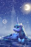 highres princess_luna snow viwrastupr winter
