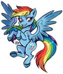 hannahtailz highres rainbow_dash