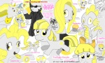 apple_bloom applejack crossover derpy_hooves everypony flockdraw fluttershy gilda main_six muffin nightmare_moon parasprite parody pinkie_pie princess_celestia rainbow_dash rarity spike the_great_and_powerful_trixie the_matrix twilight_sparkle zecora