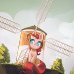 highres mirroredsea pinkie_pie windmill