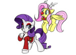 christmas coat costume fluttershy jessy rarity