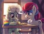 background_ponies granny_smith parents raikoh14 young zap_apples
