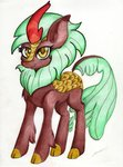 absurdres highres kirin luxiwind traditional_art