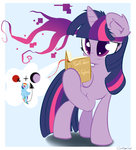 book carligercarl princess_twilight rainbow_dash twilight_sparkle