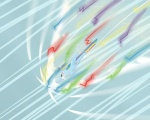rainbow_dash sonic_rainboom speccysy wallpaper