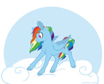 cloud naroclie rainbow_dash