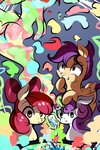apple_bloom bottle cutie_mark_crusaders highres magic potion scootaloo sweetie_belle tohupo