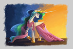 dress flowers highres plainoasis princess_celestia