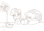 bowl coffee joey-darkmeat magic milk rarity sweetie_belle