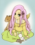 christinies fluttershy humanized
