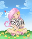 bunny ddhew dress fluttershy humanized