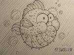 fish sa1ntmax species_swap spike traditional_art