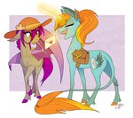 bat_pony famosity hat letter magic original_character