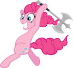 axe insanity moongaze pinkie_pie weapon