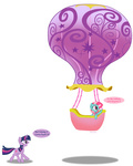 azureglow balloon comic g3 generation_leap highres minty transparent twilight_sparkle vector