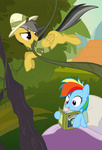 bed book daring-do naroclie rainbow_dash