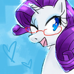 glasses kcg portrait rarity