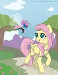 fluttershy highres inkieheart seabreeze