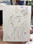 andy_price highres princess_luna traditional_art