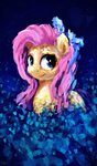 absurdres flowers fluttershy highres thefloatingtree