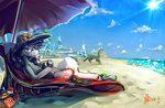 alumx beach glasses hat princess_celestia sunglasses umbrella