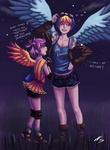 123hamster 20_percent_cooler comic goggles highres humanized rainbow_dash scootaloo