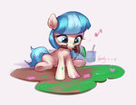 coco_pommel filly luciferamon paint paintbrush