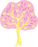 fluttershy fluttertree highres metalbeersolid species_swap transparent tree vector
