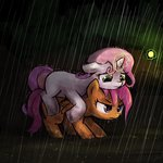 lumineko magic pony_ride_the_pony rain riding scootaloo sweetie_belle