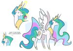 cake egophiliac magic princess_celestia