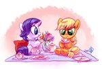 applejack rarijack-daily rarity tea_party whitediamonds