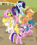 applejack firefly g1 generation_leap posey sparkler surprise twilight xazteiin