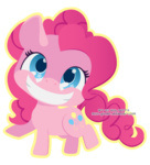 chibi miss-glitter pinkie_pie transparent