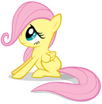 astanine filly fluttershy highres transparent vector