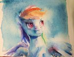 malinetourmaline rainbow_dash traditional_art
