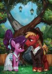 apples assasinmonkey big_macintosh clothes dress flowers hat lantern pear sugar_belle trees