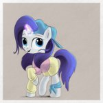 clothes hat highres magic rarity songbird_serenade