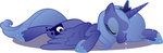 highres princess_luna transparent vector wraithx79