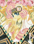 20s angel flapper fluttershy headband manecut necklace sararichard