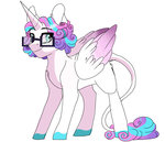 absurdres glasses grown_up highres princess_flurry_heart scarletskitty12