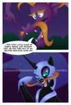comic mustache nightmare_moon rizcifra