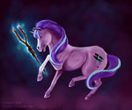 absurdres highres horselike magic starlight_glimmer tirramirr