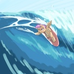 scootaloo sick_nasty surfboard surfing thereturnofmuabo
