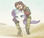 big_boss crossover kimi-the-sioux metal_gear_solid rarity riding
